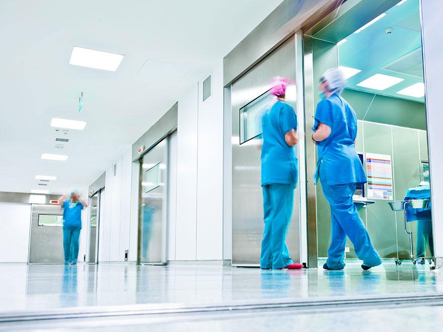 OP Räume mit Pflegepersonal